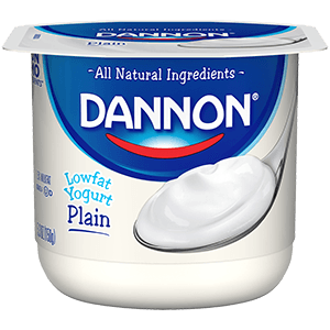 Dannon All Natural Plain Lowfat Yogurt