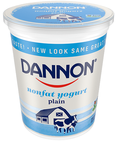 Dannon All Natural Plain Nonfat Yogurt