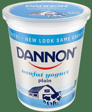 Dannon All Natural Plain Nonfat Yogurt