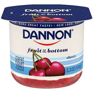 Dannon Cherry Fruit on the Bottom Yogurt