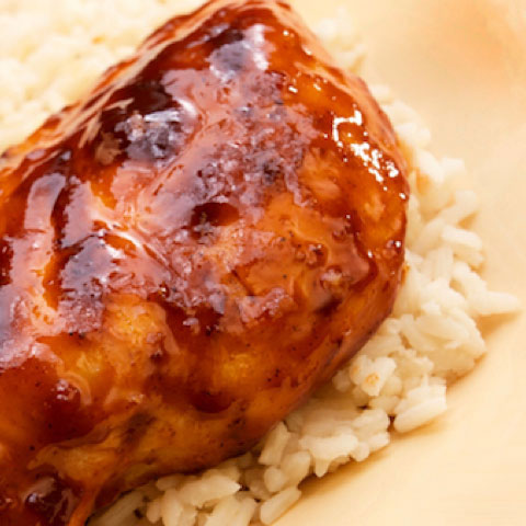 Barbeque Chicken with Citrus Yogurt Marinade