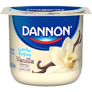 Dannon Classic Low Fat Yogurt - Vanilla