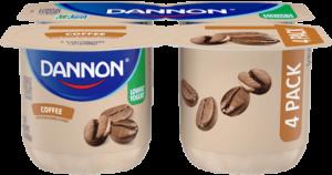 Dannon Coffee Lowfat Yogurt 4 Pack