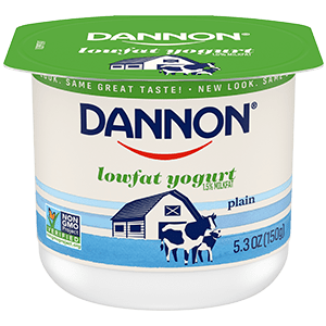 Dannon Plain Lowfat Yogurt