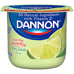 Dannon Whole Milk Yogurt - Key Lime