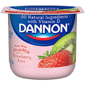 Dannon Whole Milk Yogurt - Strawberry Kiwi