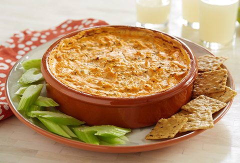 Buffalo Chicken Party Dip