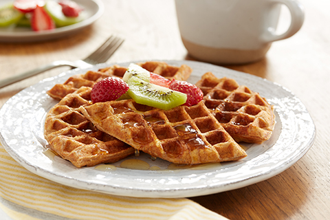 Honey Cinnamon Waffles