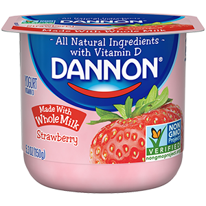 Dannon Whole Milk Yogurt - Strawberry