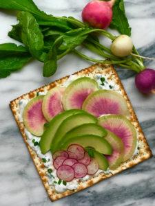 Springtime Avocado Matzah